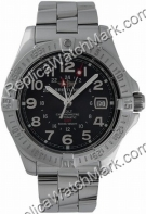 Breitling Aeromarine Colt GMT Steel Black Mens Watch A3235011-B7