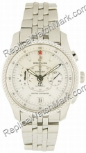 Breitling Bentley Mark VI Mens Watch Steel Platinum P2636212-G6-