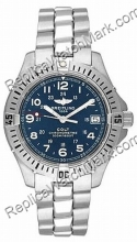 Breitling Aeromarine Colt Quartz Steel Blue Mens Watch A74350-C5