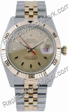 Hommes suisse Rolex Oyster Perpetual Datejust deux tons or jaune