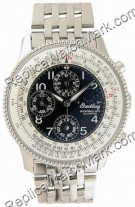 Breitling Navitimer Olympus Montbrilliant Mens Steel Black Watch