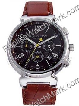 132065219e9e Baratos relojes de señora   Réplica Louis Vuitton Reloj negro ...