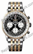 Breitling Navitimer 18kt Yellow Gold Steel Mens Watch D2332212-C