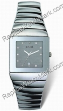 Mens Silver Rado Sintra Ceramic Watch R13432122