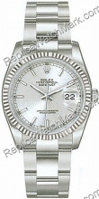 Swiss Rolex Oyster Perpetual Datejust Mens Watch 116234-SSO