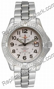 Breitling Aeromarine Colt GMT Steel Mens Watch A3235011-G5-292