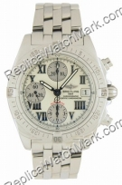 Breitling Windrider Chrono Cockpit Mother-of-pearl Steel Mens Wa