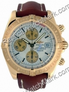 Breitling Chronomat Evolution Windrider Mens 18kt oro giallo K13