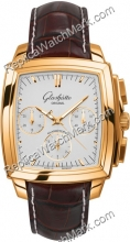 Senador Glashutte Chronograph Mens Watch Karree 39-31-51-51-04