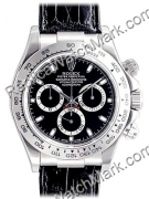 Oyster Perpetual Cosmograph Daytona Rolex 18 kt Mens Watch or bl