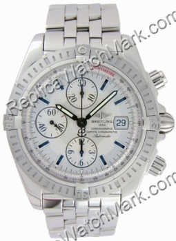 Breitling Chronomat Evolution Windrider Mens Montre en acier A13