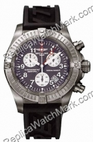 Aeromarine Breitling Chrono Avenger M1 Titanium Mens Watch in go