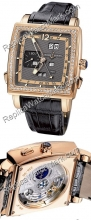 Ulysse Nardin Quadrato Dual Time Perpetual Mens Watch 326-90B.69