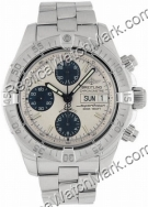 Breitling Aeromarine Chrono Mens Steel Watch Superocean A1334011