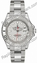Swiss Rolex Oyster Perpetual Yachtmaster Mens Watch 16622-GYSO