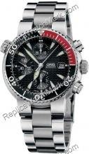 Hommes Oris Diver Chronographe Watch 674.7542.71.54.MB