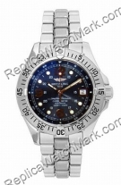 Breitling Aeromarine Superocean Mens Steelfish Blue Steel Watch