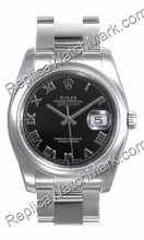 Swiss Rolex Oyster Perpetual Datejust Mens Watch 116200-BKRO