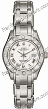 Rolex Oyster Perpetual Lady Datejust Ladies Watch Diamond Pearlm