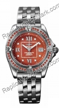 Breitling Windrider Cockpit Lady Diamond Feminina Spessartite Re