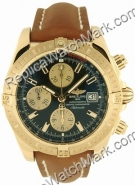 Breitling Chronomat Evolution Windrider 18kt Yellow Gold Mens Bl