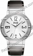 Piaget Polo Ouro Branco 18K Mens Watch G0A26019