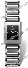 Ladies Diamond Silver Rado Integral Ceramic Watch R20430732