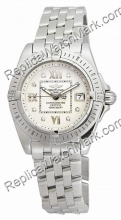 Breitling Windrider Cockpit Lady Diamond Watch A7135612-G5-780A