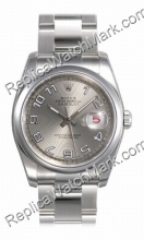 Swiss Rolex Oyster Perpetual Datejust Mens Watch 116200-SAO