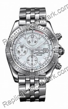 Breitling Chronomat Evolution Windrider madre-perla Steel Mens W