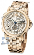 Ulysse Nardin Dual Time 42 milímetros Mens Watch 246-55-8-30