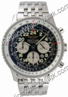 Breitling Navitimer Mens Steel Cosmonaute Black Watch A2232212-B