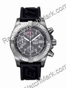 Breitling Chrono Avenger Aeromarine Titanium Black Mens Watch in
