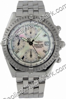 Breitling Windrider Chronomat Evolution Mother-of-Pearl Steel He