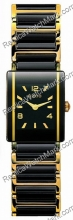 Rado Integral or jaune 18 kt Black Ladies Mini Ceramic Watch R20
