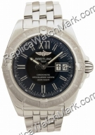Breitling Mens Windrider Cockpit Steel Black Watch A4935011-B7-3