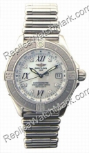 Breitling Windrider Callistino Diamond Mother-of-pearl Steel Dam