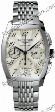 Longines Evidenza Mens Automatic Chronograph L2.643.4.73.6