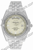Breitling Windrider Headwind Steel Cream Mens Watch A453551-G5-3