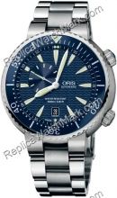 Oris Divers Small Second Date Mens Watch 643.7609.85.55.MB