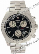 Breitling Chrono Mens Aeromarine Colt Black Steel Watch A7338011