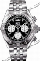 Breitling Mens Windrider Crosswind Steel Black Watch A4435512-B5