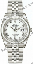 Suiza Hombres Rolex Oyster Perpetual Datejust Mira 116200-WRJ