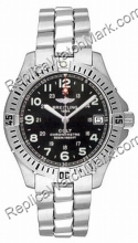 Breitling Aeromarine Colt Quartz Steel Black Mens Watch A74350-B