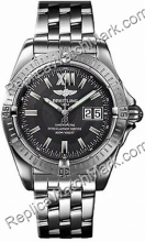 Breitling Windrider Cockpit Steel Grey Mens Watch A4935011-F5-36