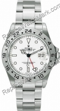 Swiss Rolex Oyster Perpetual Explorer II Mens Watch 16570-WSO