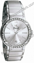 Piaget Polo Ouro Branco 18K Mens Watch G0A26023
