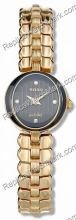 Rado Crysma Señoras Diamante Tono Oro-Watch R41766713