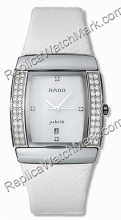 Rado Sintra Ceramic 48 Diamond Ladies Watch R13577906 Midsize