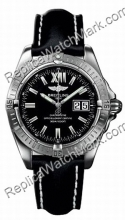 Breitling Mens Windrider Cockpit Steel Black Watch A4935011-B7-4
